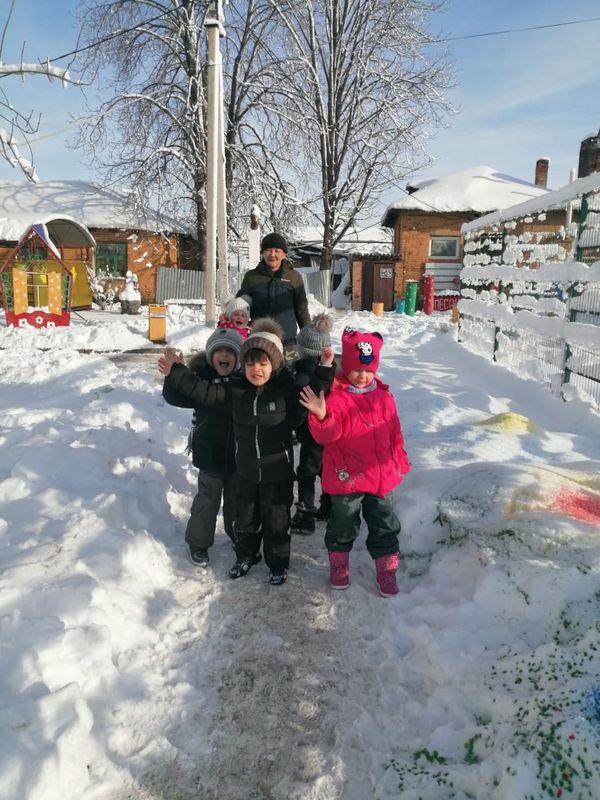 «Ах, как мы любим снег!»