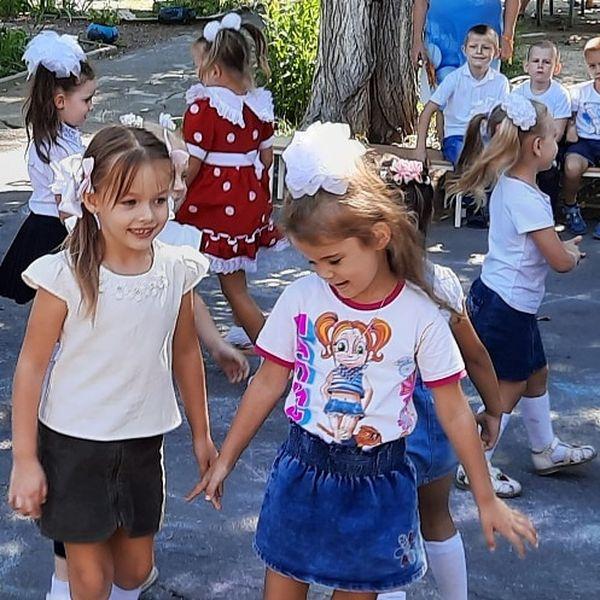 День знаний в детском саду «Аленка»